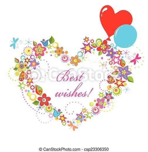 Best wishes - csp23306350