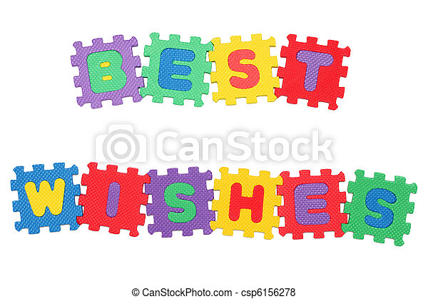 Best Wishes - csp6156278