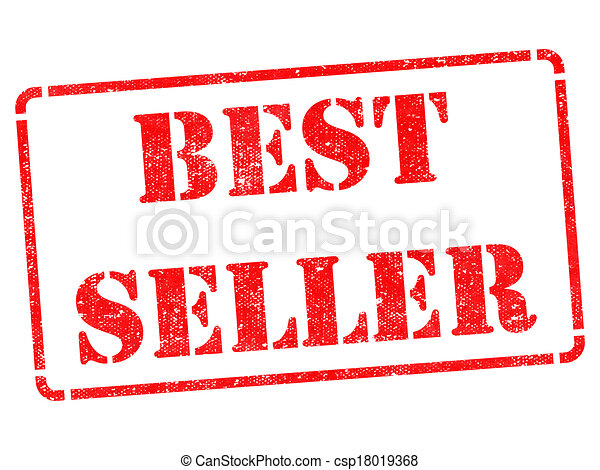 Bestseller on Red Rubber Stamp. - csp18019368