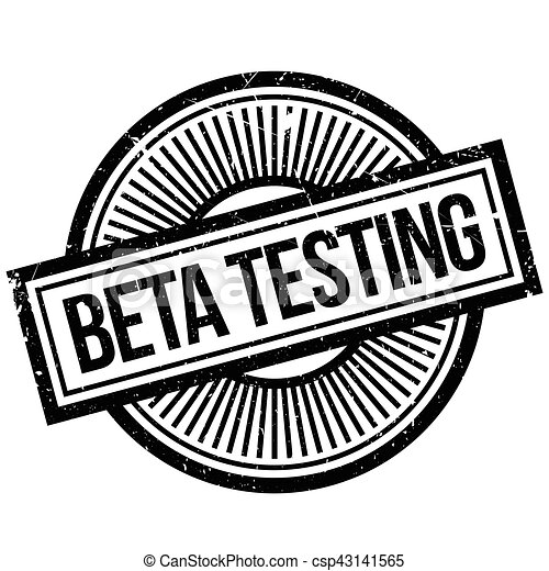 Beta testing stamp - csp43141565