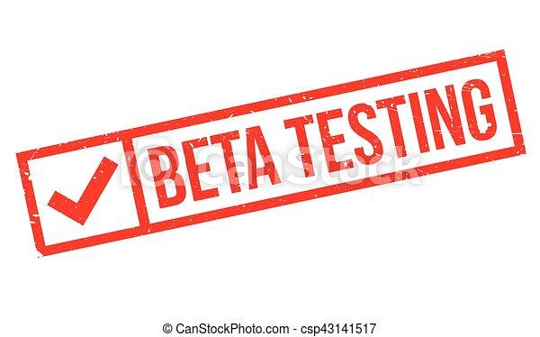 Beta testing stamp - csp43141517