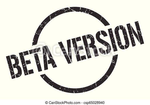 beta version stamp - csp65028940
