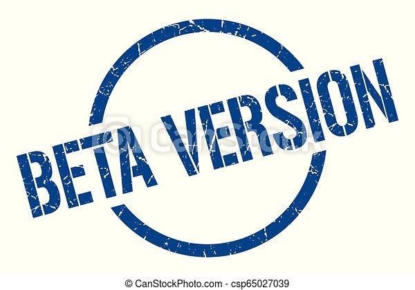beta version stamp - csp65027039