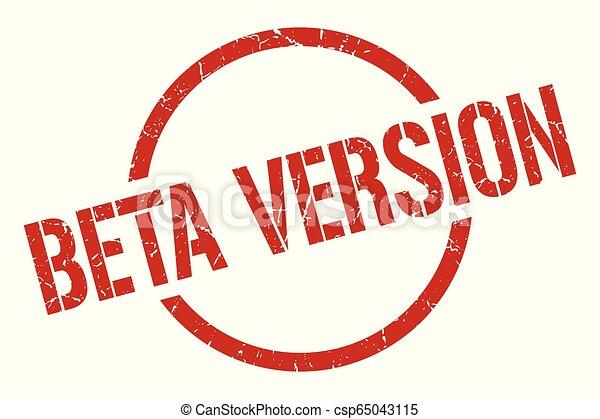 beta version stamp - csp65043115