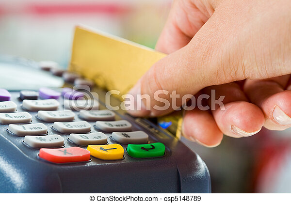 betaling, kaart - csp5148789
