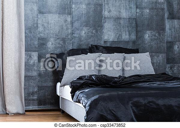 Slaapkamer Behang Grijs.Beton Behang Slaapkamer Grijs Behang Moderne Beton