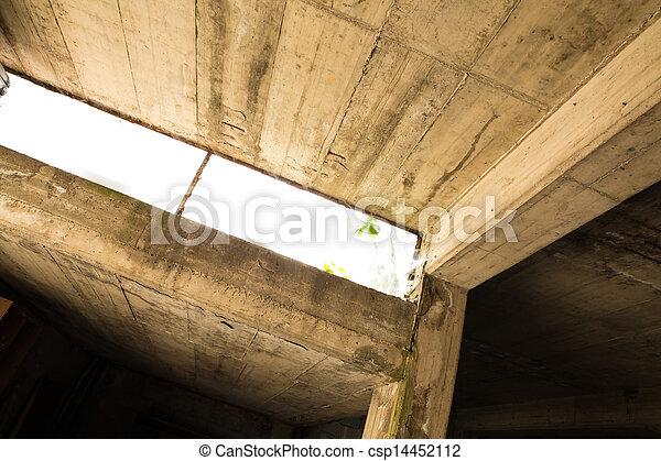 betongarage beton garage stockfoto garagenboden streichen