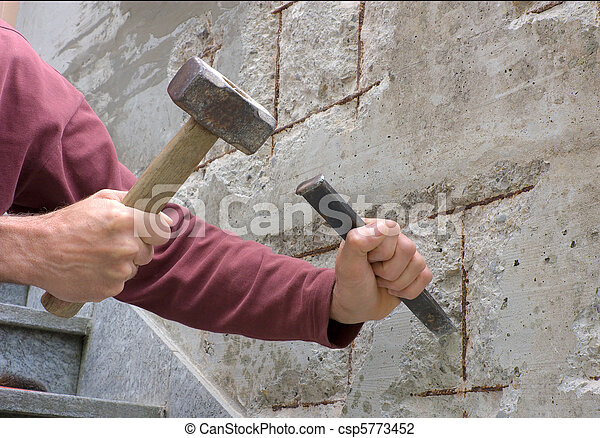 beton, restaurálás - csp5773452
