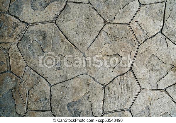 Betonieren Boden Muster Briefmarke Beton Steinigen Textur Boden