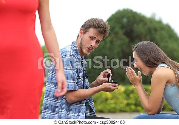 Datierung während verheiratet