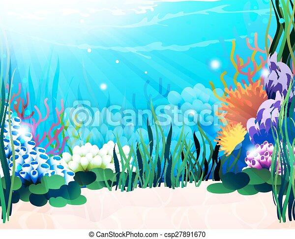 Unterwasserpflanzen - csp27891670