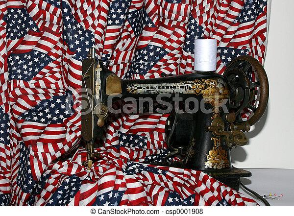 Betsy Ross wanna be - csp0001908