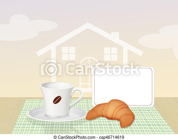 Bettfruhstuck Fruehstueck Abbildung Bett