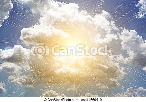 beutiful clouds - csp14669419