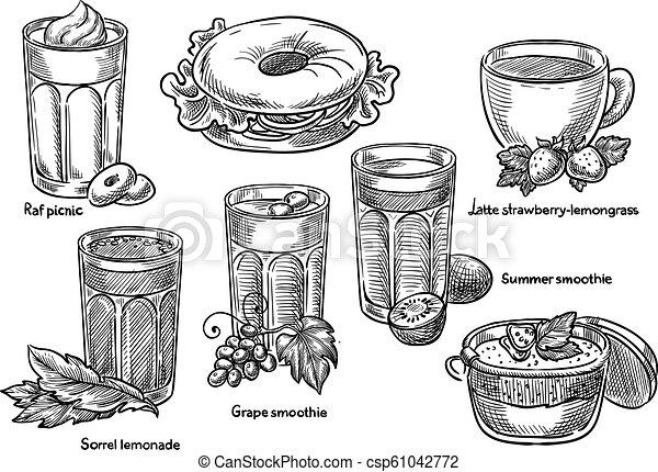 Beverages. - csp61042772