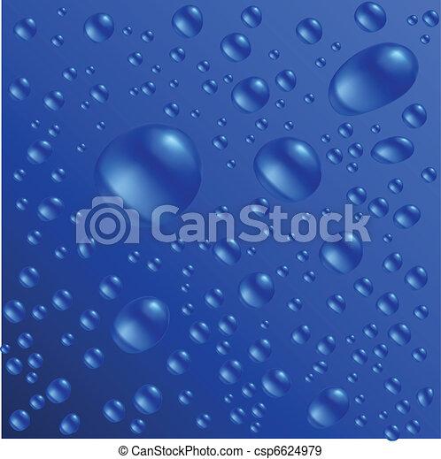 Wassertropfen - csp6624979