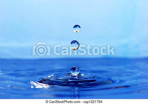 bewässern tropfen - csp1221794