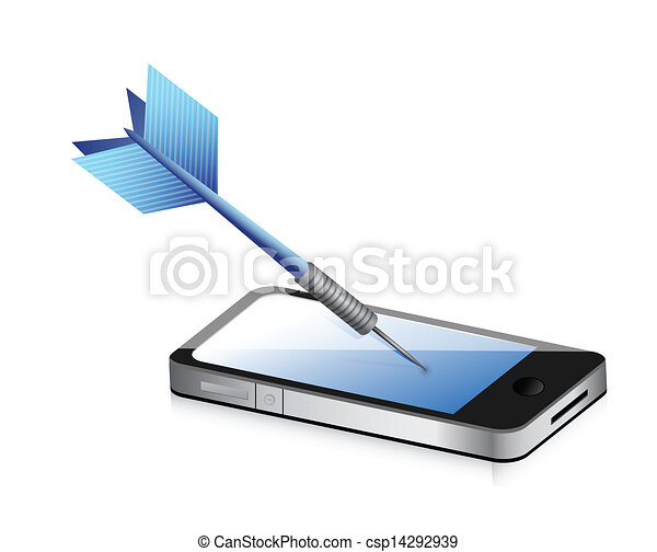 bewegliche kommunikationen, design, ziel, abbildung - csp14292939