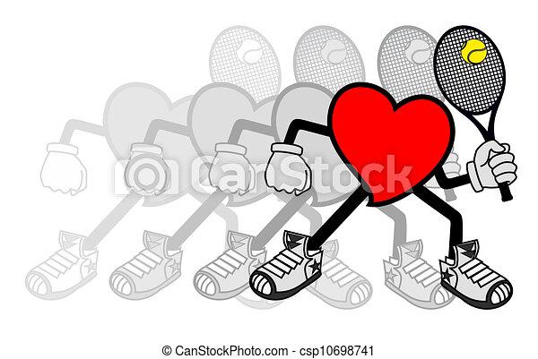 Motion Tennis - csp10698741