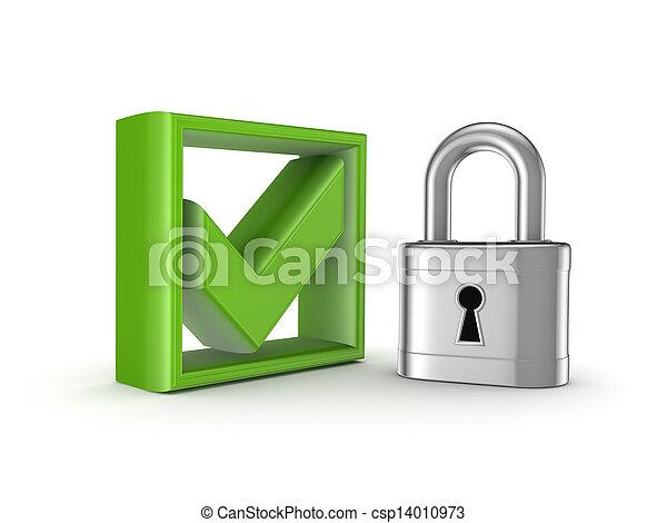 bezpieczeństwo, concept. - csp14010973