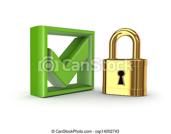 bezpieczeństwo, concept. - csp14002743