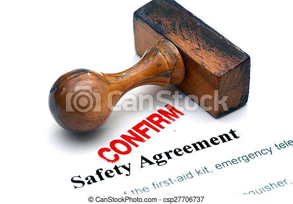 bezpieczeństwo, porozumienie - csp27706737