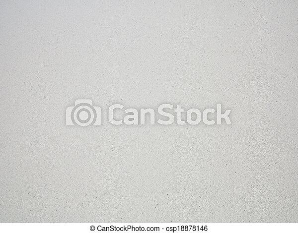 biała plaża, piasek, tło - csp18878146