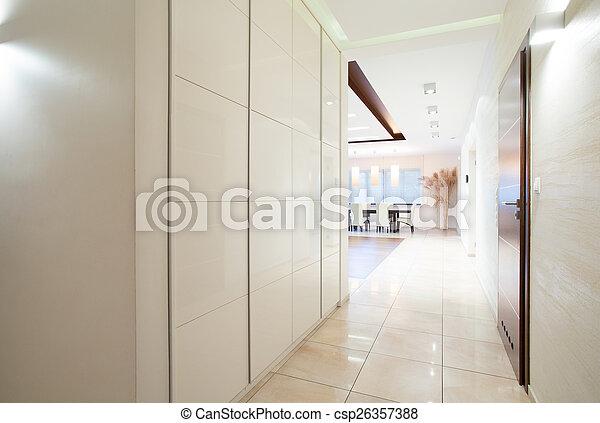 biały, korytarz - csp26357388