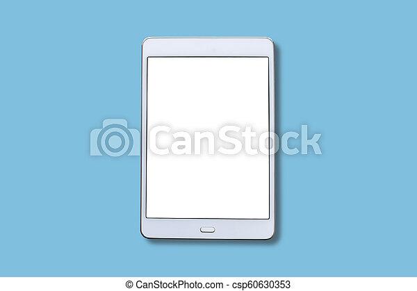 biały, screen., tabliczka, czysty - csp60630353