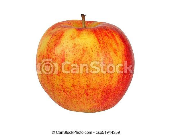 bianco, mela, rosso - csp51944359