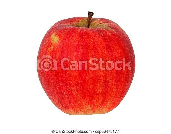 bianco, mela, rosso - csp56475177