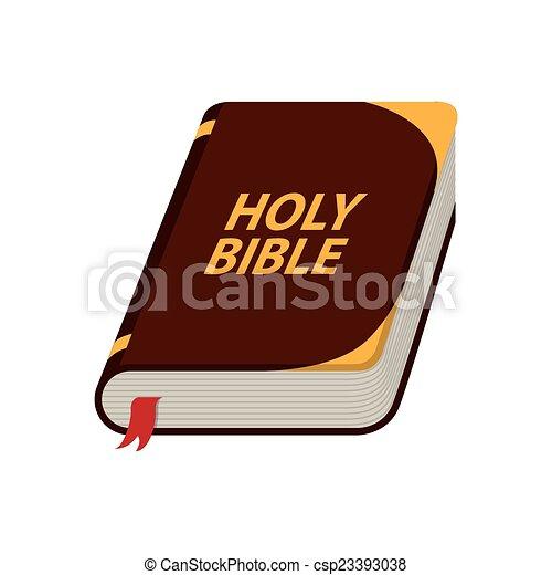bibel, design, heilig - csp23393038