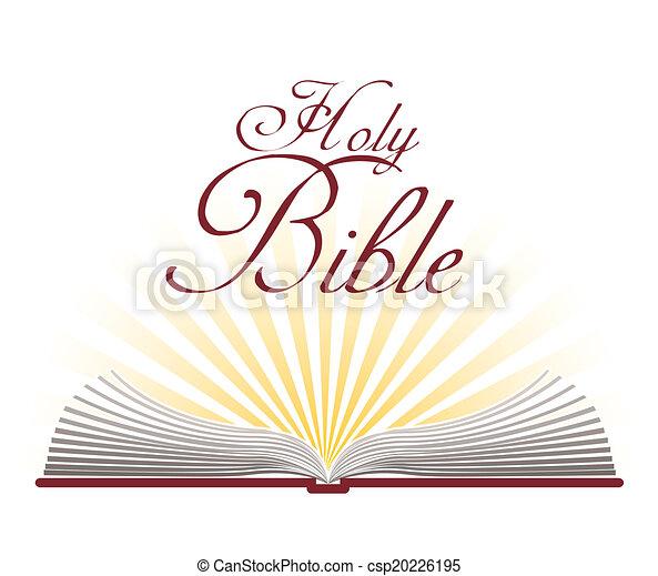 bibel, design, heilig - csp20226195