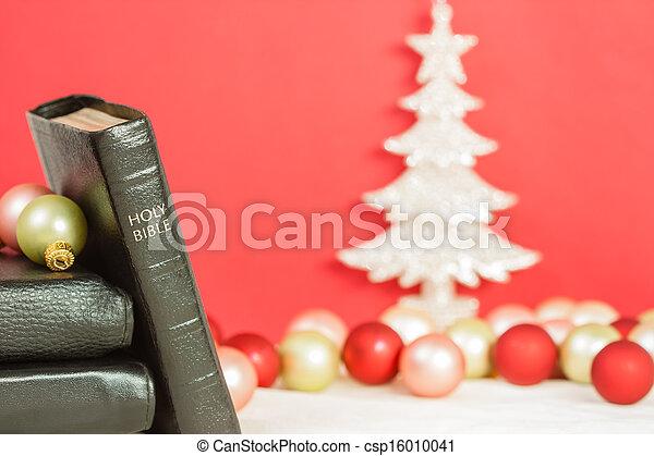 Bibel, weihnachten, heilig. Sein, gebraucht, sharply, heilig ...