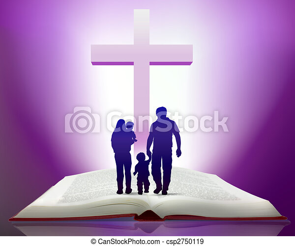 bible and family - csp2750119