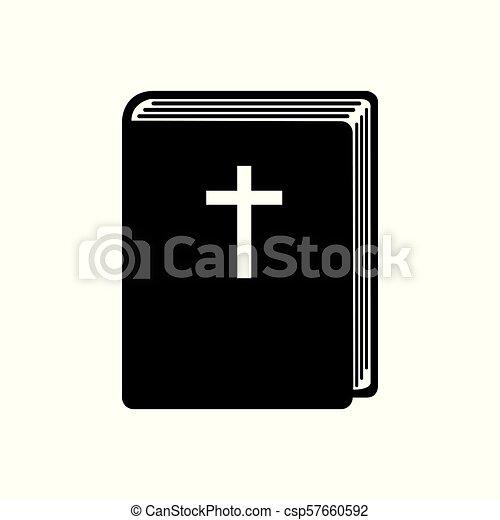 Bible book icon - csp57660592
