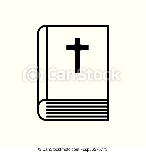 Bible book icon - csp56576773
