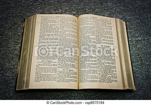 bible - csp9570184
