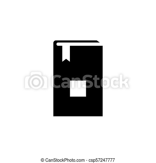 Bible Holy Book Flat Vector Icon - csp57247777