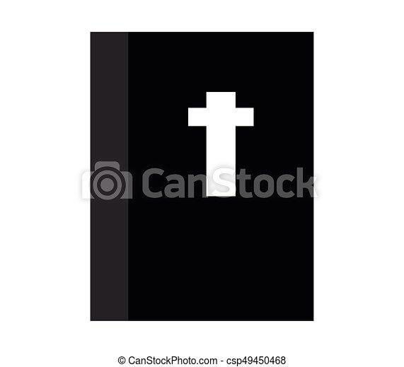 Bible icon - csp49450468
