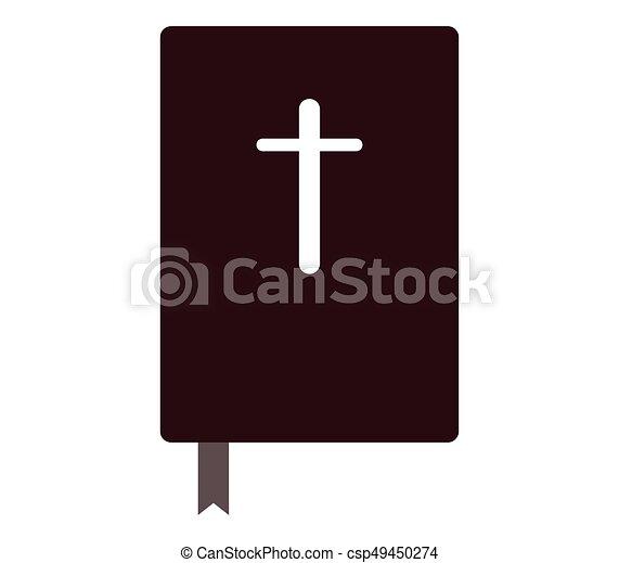 Bible icon - csp49450274