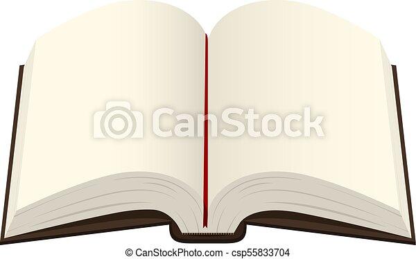 Bible Ouvert Livre Isole Illustration Arriere Plan Livre Epais Blanc