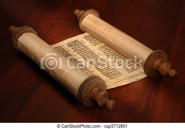 Bible Scrolls - csp3712801
