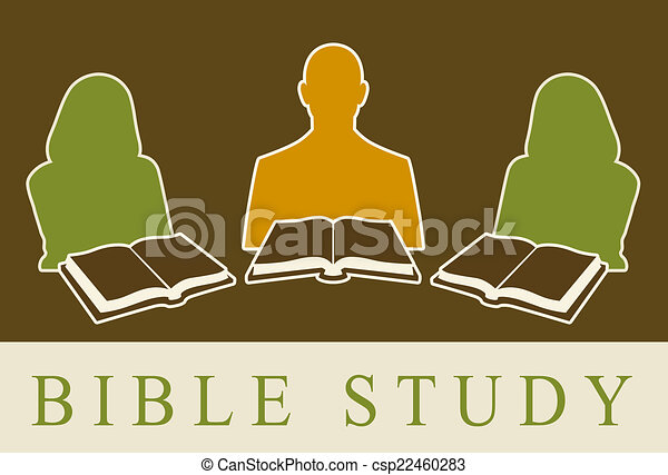 bible study stock illustrations 2 592 bible study clip art images rh canstockphoto com women's bible study clipart men's bible study clipart