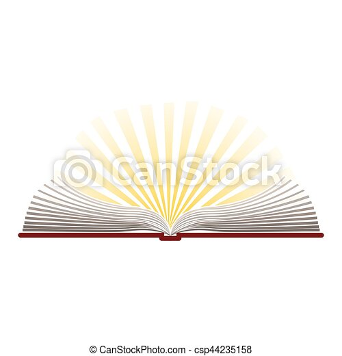 Biblia Abierta Silueta Santo Colorido Biblia Silueta Colorido