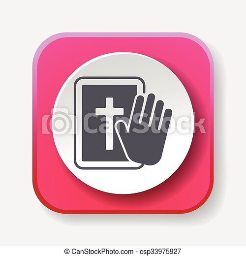 biblia, ikona - csp33975927