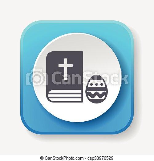 biblia, ikona - csp33976529