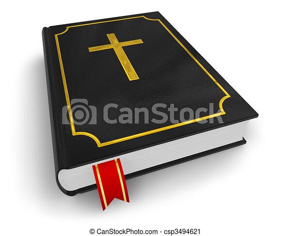 biblia, jámbor - csp3494621