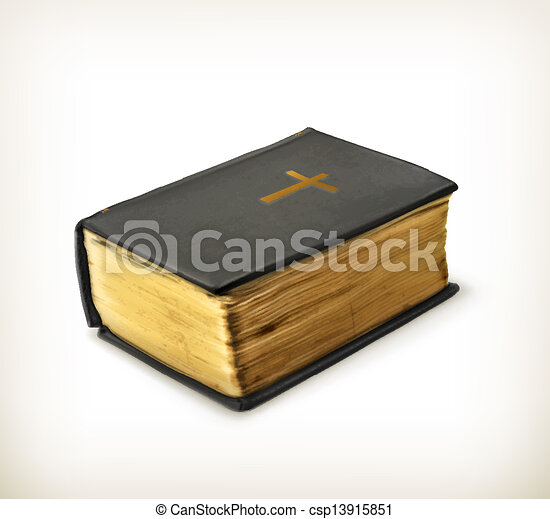 biblia, vektor - csp13915851