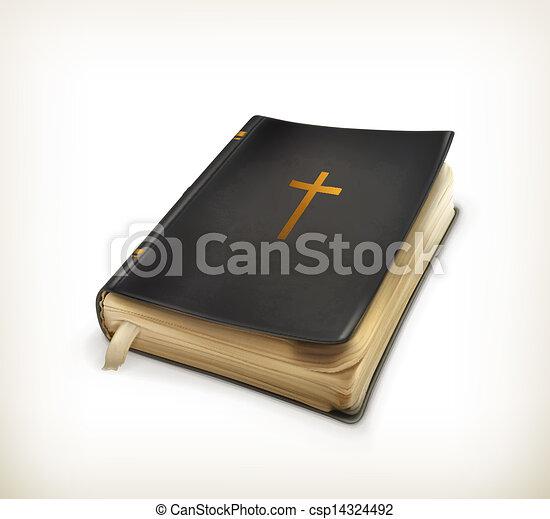 biblia, vektor - csp14324492
